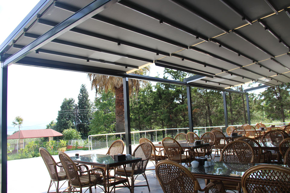Euro Pergola Retractabila Acoperis Retractabile Tavan