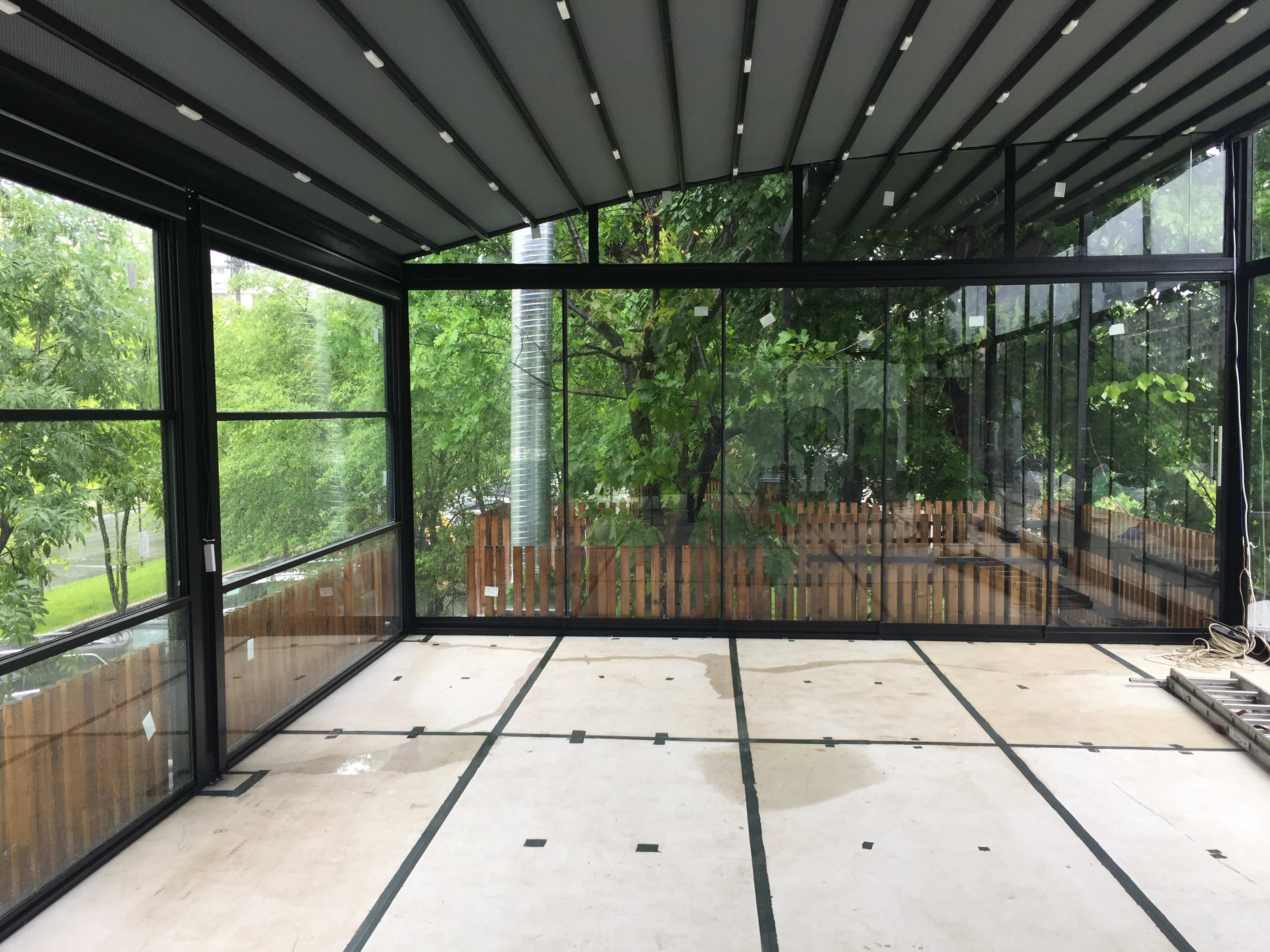 Euro Pergola Retractabila Acoperis Copertina Retractabila